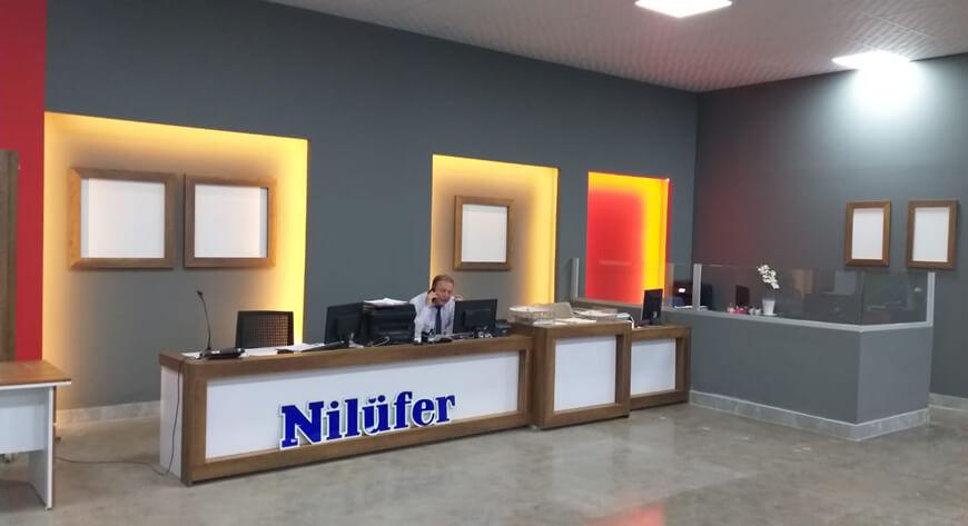 Bornova Nilüfer Turizm Hareket Merkezimiz Yenilenmiştir!